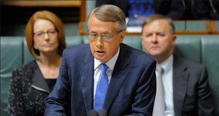 Wayne Swan Labor Budget 2013