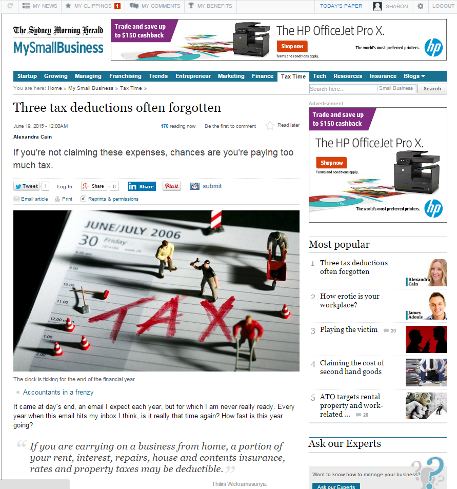 SMH Tax