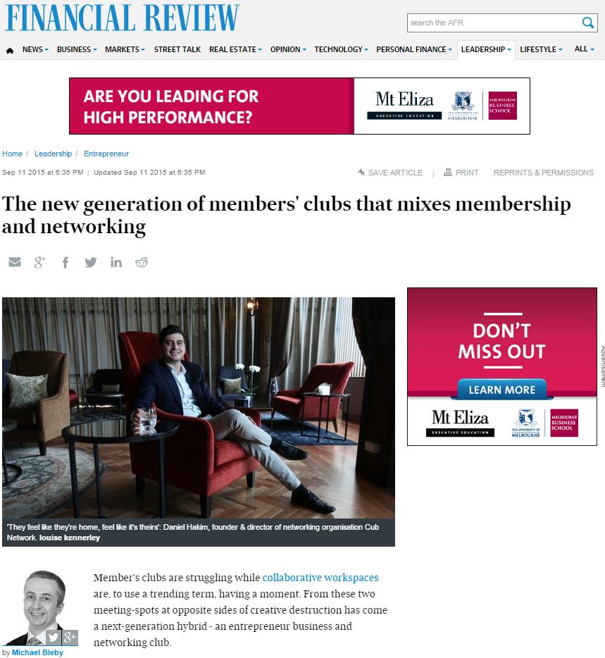 CUB article