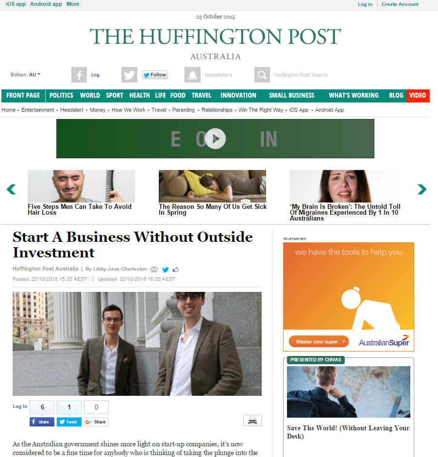 Appster_Huffington_post
