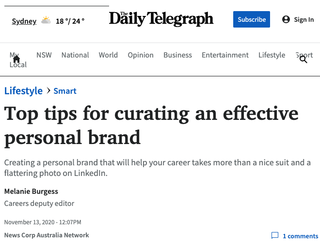 Daily telegraphy Top Tips