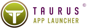 TaurusAppLauncher Horizontal Purple