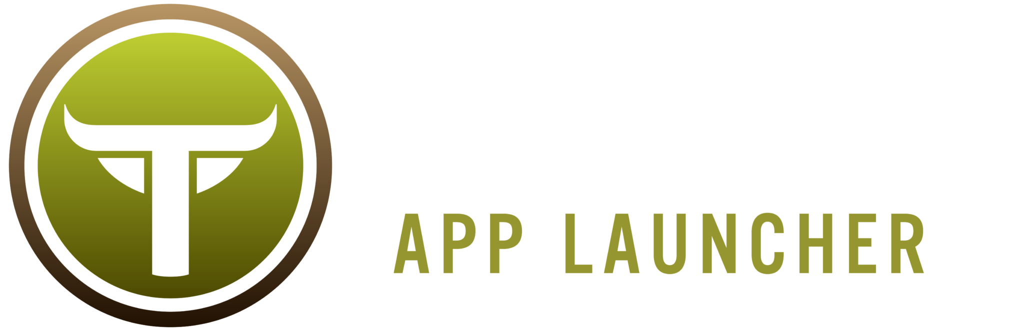 TaurusAppLauncher Horizontal WHite