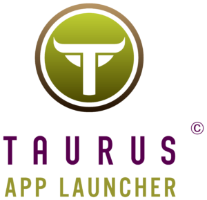 TaurusAppLauncher Vertical Purple