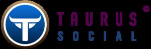 TaurusSocial Horiztonal Purple